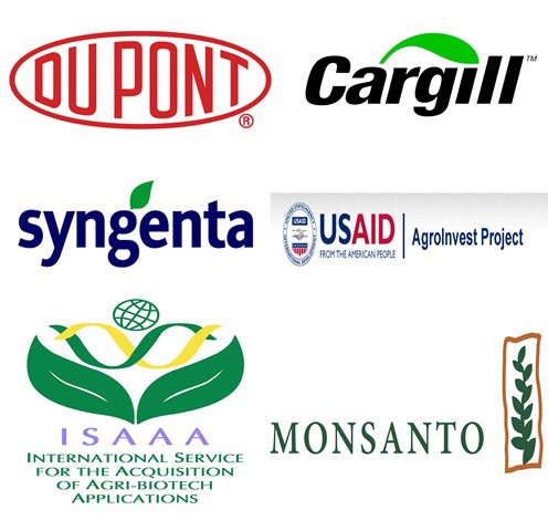 Key players in the annexation of Ukrainian agriculture include Du Pont, Syngenta, Monsanto and others.