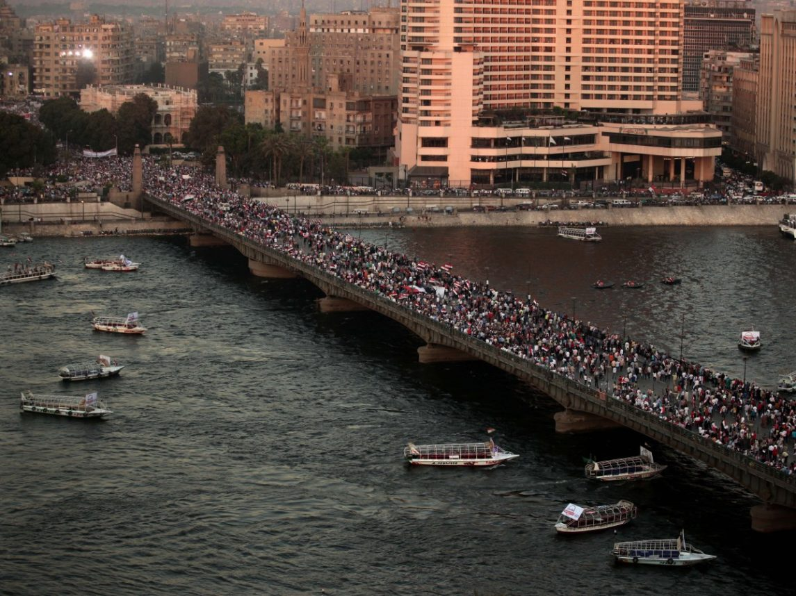 Opposing Groups Stage Rallies In Egypt As Tension Builds