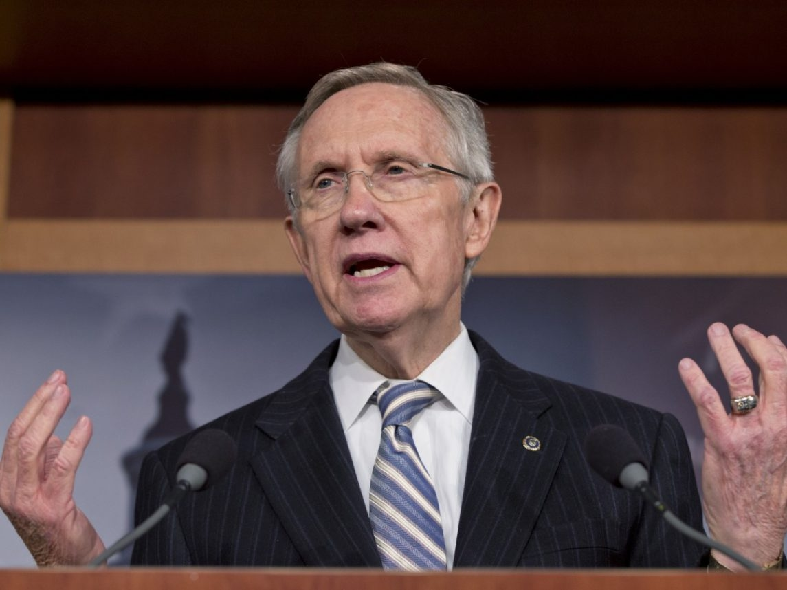 Reid Goes Head-To-Head With Republicans Over Nominee Blocks