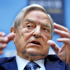 George Soros supported Obama during his 2008 election and 2012 re-election campaigns, but has now become Hillary Clinton's biggest donor.(AP Photo Manuel Balce Ceneta)