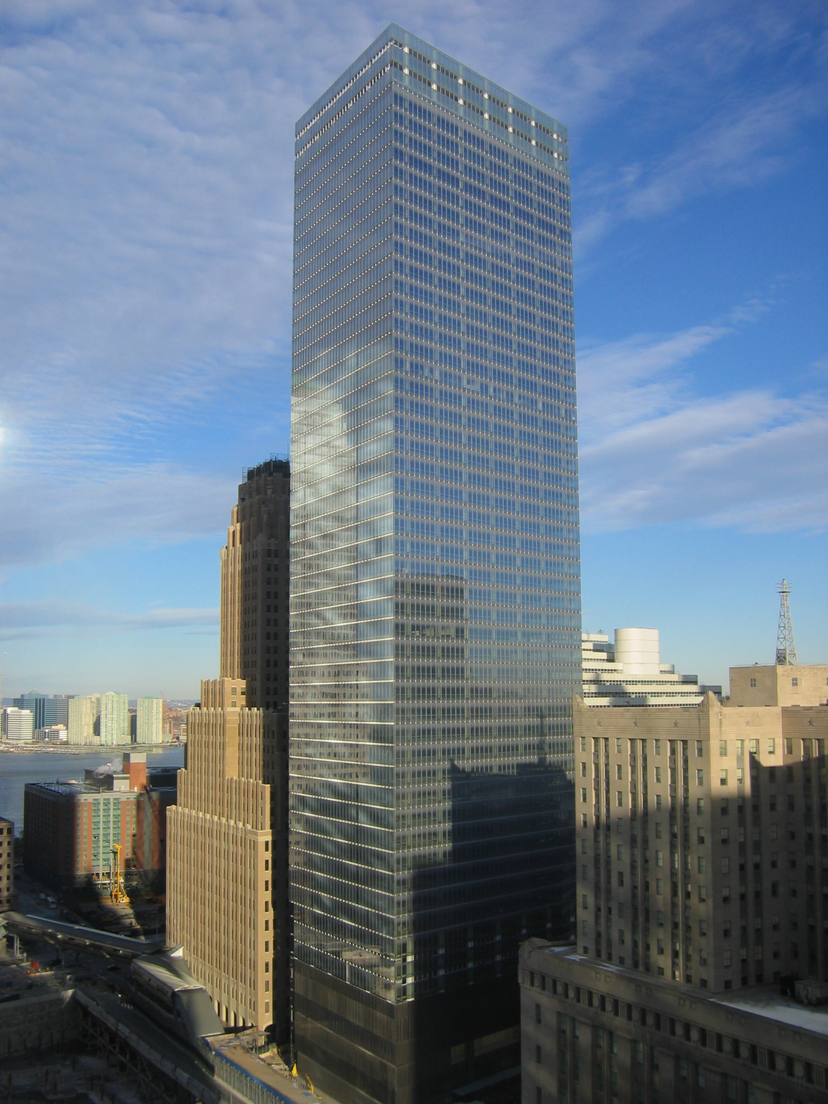 The new, 52-story 7 World Trade Center.