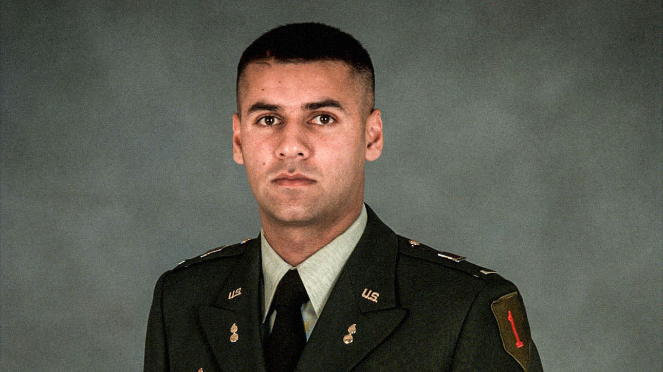 Captain Humayun Khan is a decorated war hero who died defending members of his unit in Iraq.