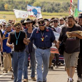 Over 200 Indigenous Nations are facing a brutal police crackdown in Canon Ball, ND where they've gathered to take a stand against the Dakota Access Pipeline.