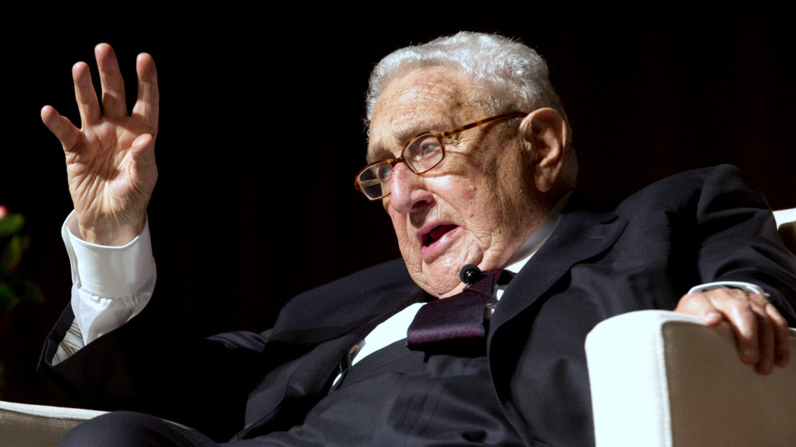 Henry Kissinger: Destroying ISIS Could Create 'Radical Iranian Empire'