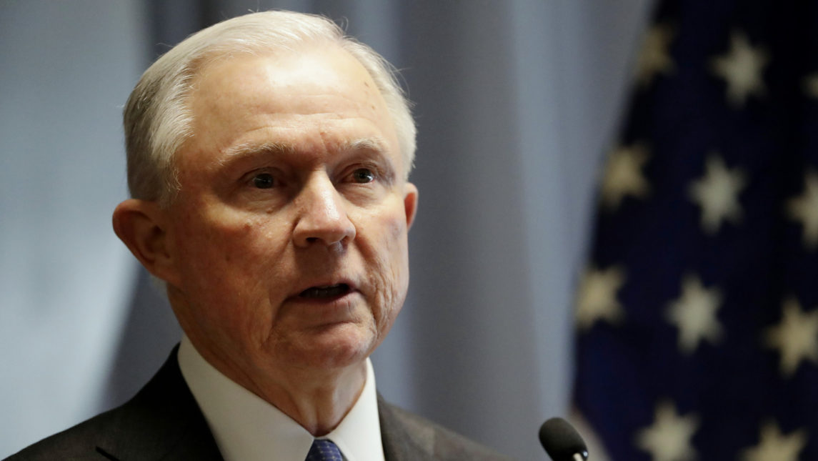 Attorney General Sessions Seeks Permanent Reauthorization Of Spying Powers