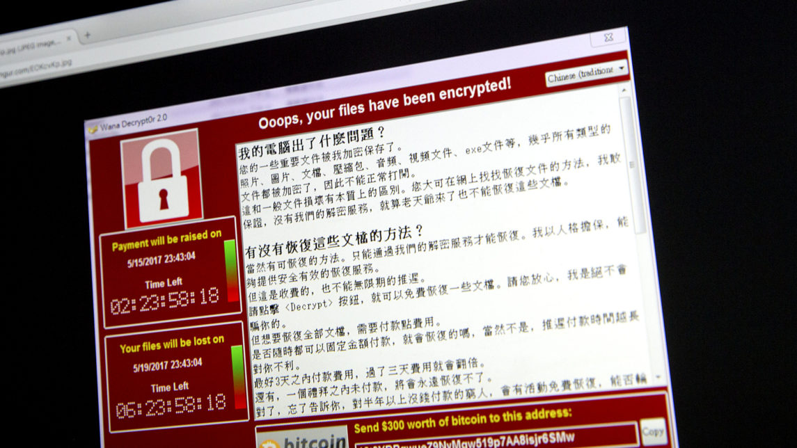 Malware Built On NSA Tools Used In Massive Cyber-Attack Hitting 74 Countries