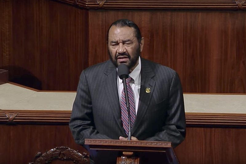 Rep. Al Green Inundated With Racist Death Threats Following Call For Trump's Impeachment