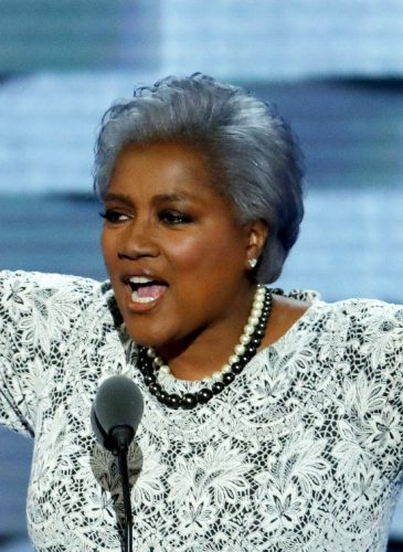Democratic National Committee Vice Chair Donna Brazile speaks during the second day of the Democratic National Convention in Philadelphia , Tuesday, July 26, 2016. (AP/J. Scott Applewhite)
