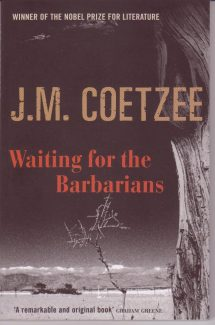 Cover: Waiting for the Barbarians by J. M. Coetzee