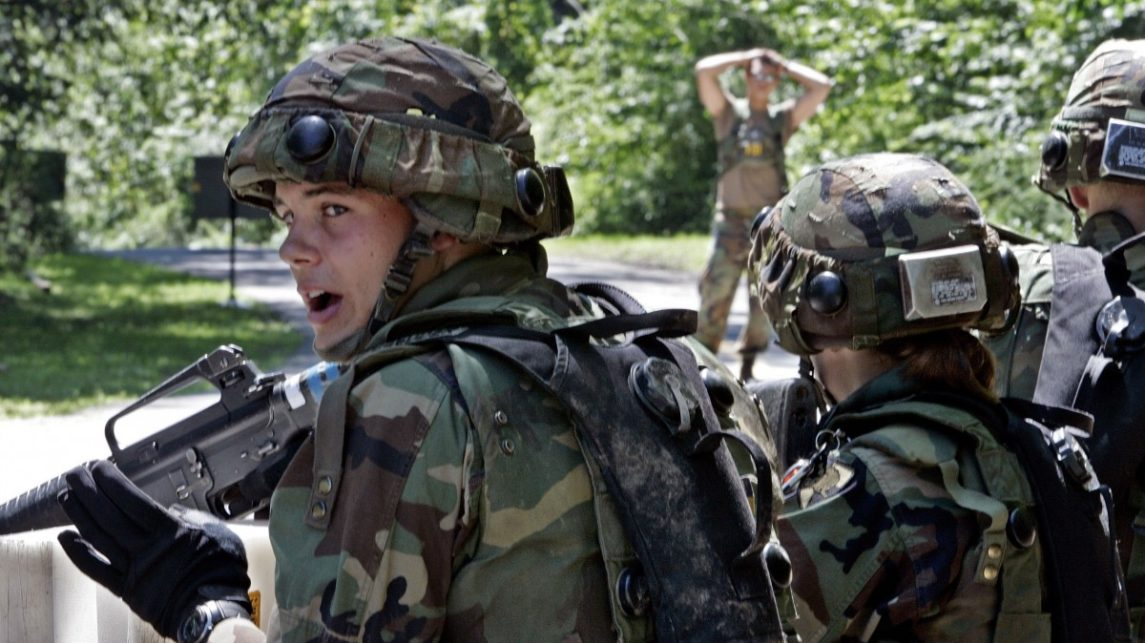 Army Study Finds Troops Suffer Concussions In Training