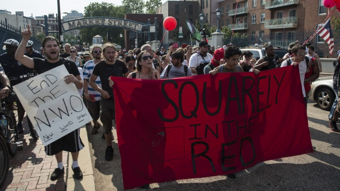 Activists Continue Through The Streets Of Philadelphia