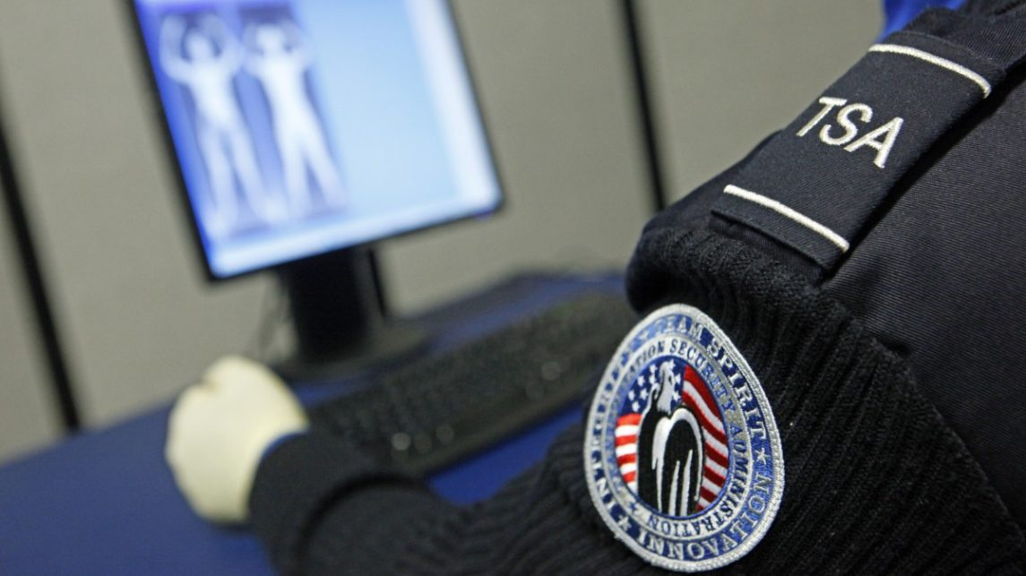 TSA X-Ray Body Scanners Sit Idle In Warehouse
