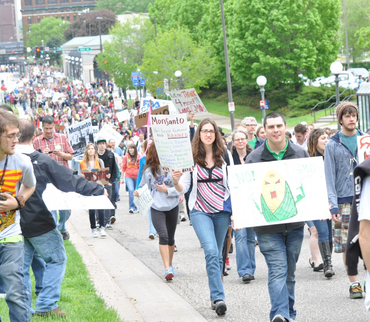 'March Against Monsanto' Stretches Across US, Globe In United Effort Against GMOs