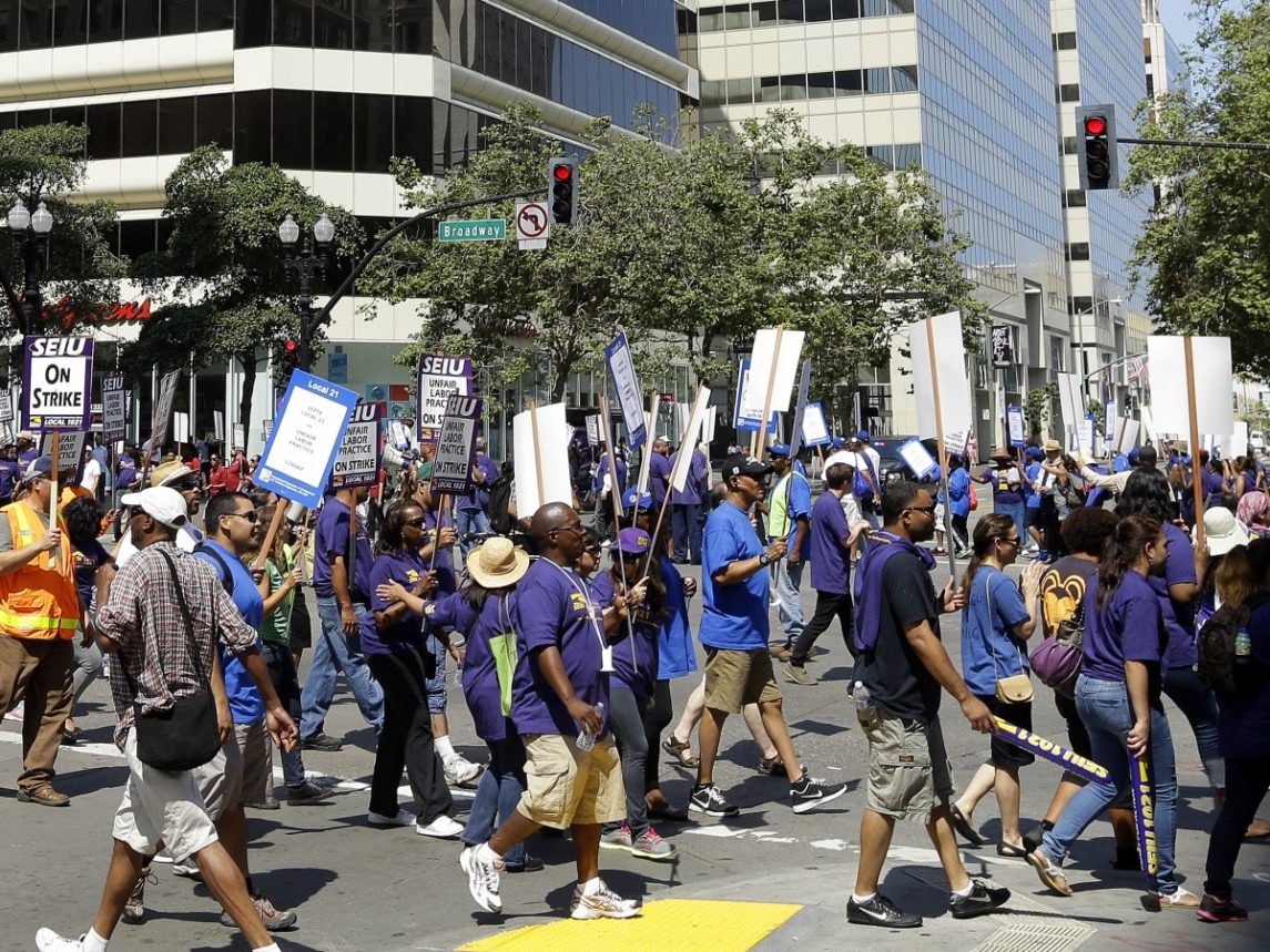 BART Union Workers May Go On Strike Next Week