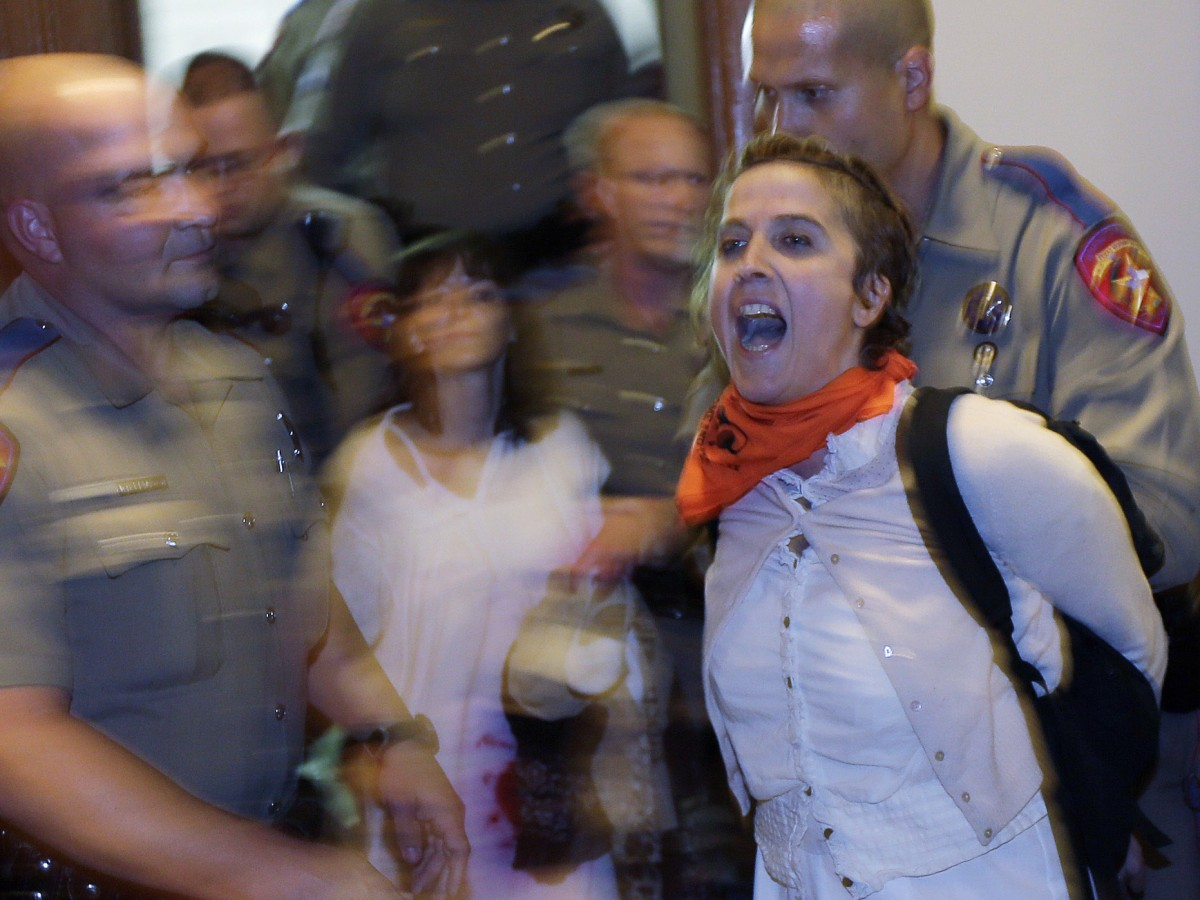 Protesters Flood Texas Capitol Over Controversial Anti-Abortion Bill