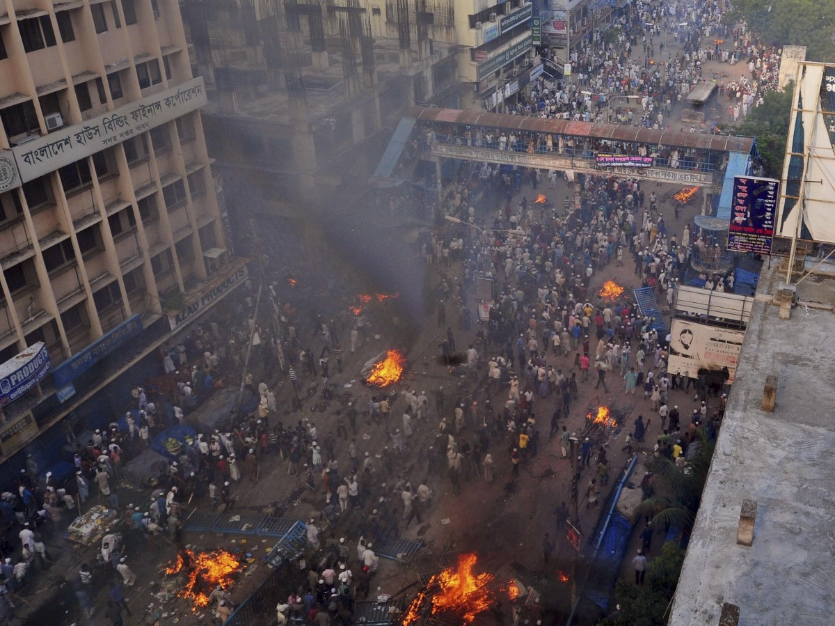 Think Political Violence In Egypt Is Bad? Bangladesh Might Have It Worse