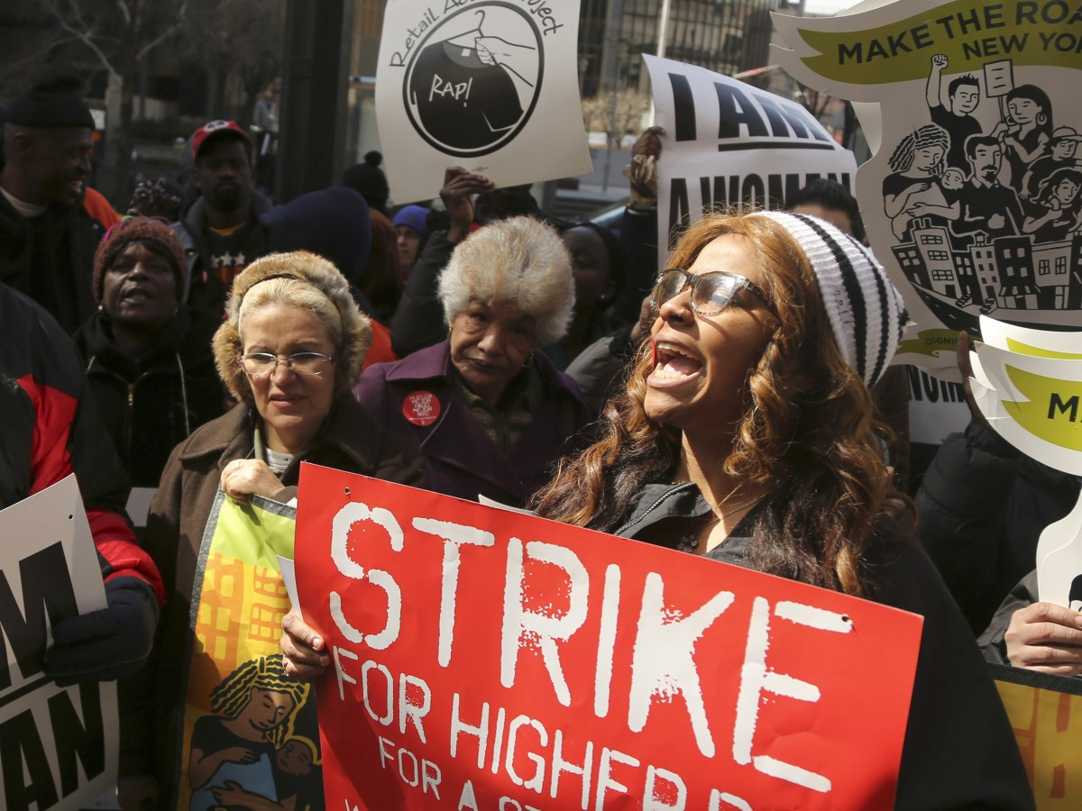 'Alt Labor' Provides Support For Fast-Food Strikes