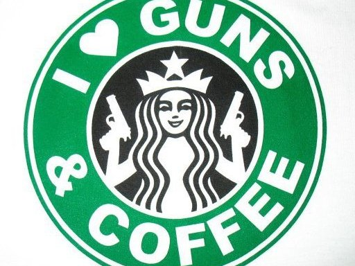 Open Carry Supporters Demonstrate At Starbucks
