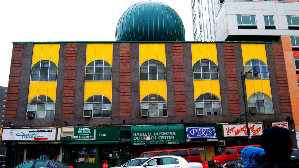 The Masjid Malcolm Shabazz Mosque in New York City. (Photo/Paul Lowry via Flickr)