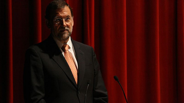 A photo of Spain's prime minister, Mariano Rajoy. Rajoy summoned the US ambassador, James Costos, as an EU delegation prepares to visit Washington to discuss the scale of US spying on its allies. (Photo/Contando Estrelas via Flickr)