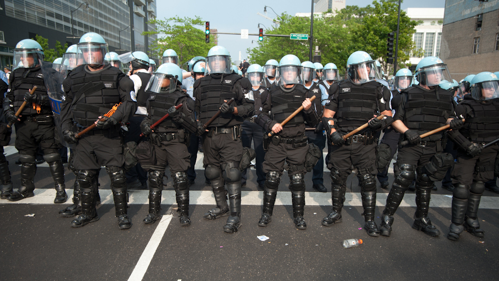 """Rise Of The Police State: """"Commando Cops"""" Proliferating in the US"""