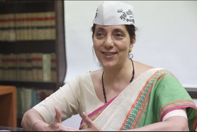 India Election: 'Idealistic Banker' Represents Anti-corruption Aam Aadmi Party