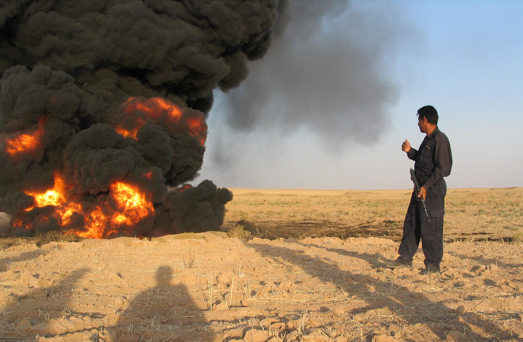 War, Oil, And Intervention As Key Iraq Refinery Sustains Attack