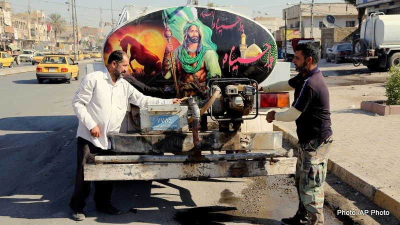 Despite Bombings By Sunni Extremists, Iraqi Shias Use Holy Month As Show Of Force
