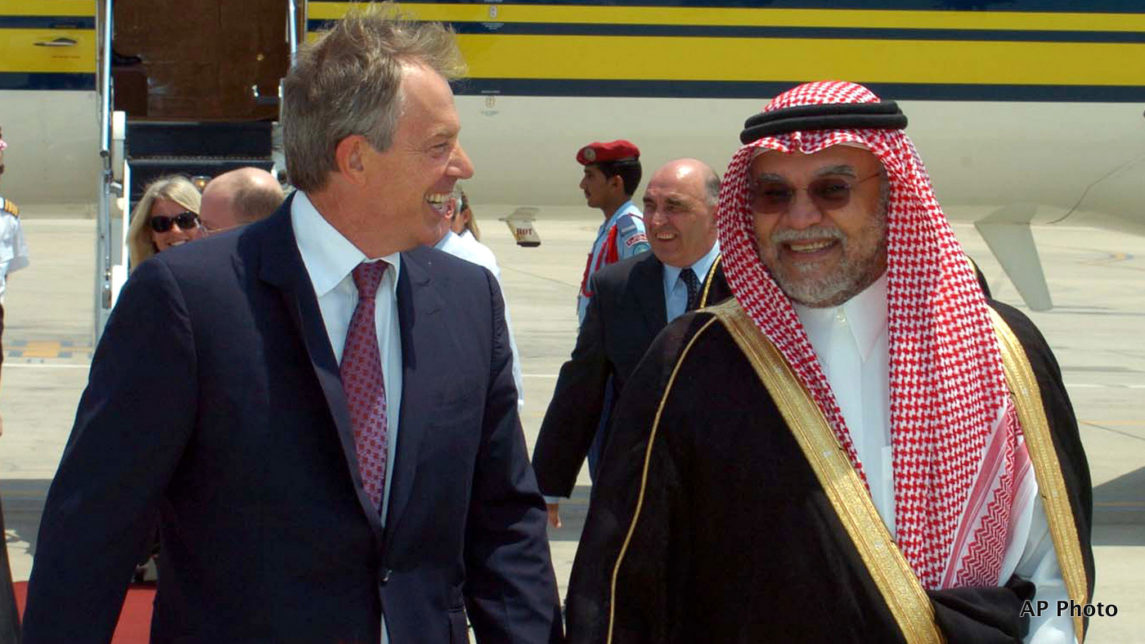 Tony Blair Confirms Receiving Millions in Donations From Saudi Arabia