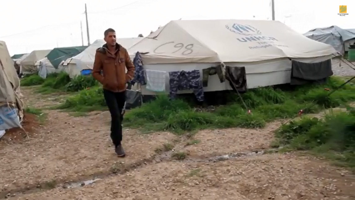 VIDEO: Palestinian Refugees In Iraq Struggle To Find Refuge From ISIS
