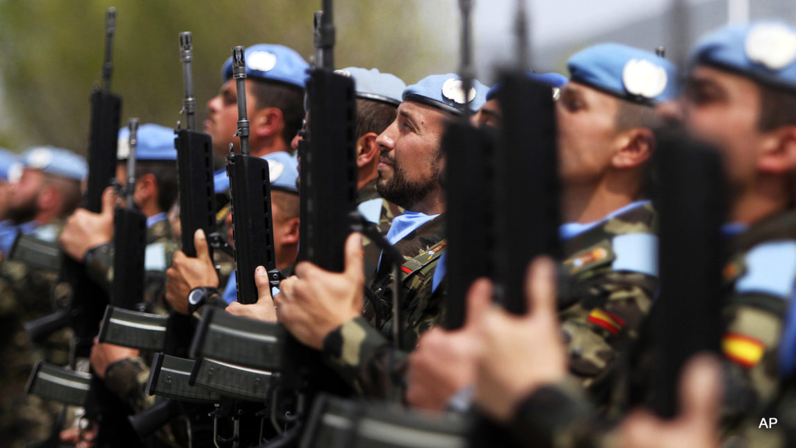 US Backs UN Plan To Expand Combat Role Of Peacekeepers
