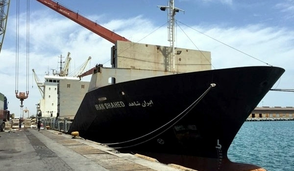 Dubbed Rescue, Iran's ship is set to carry a group of humanitarian aid workers, medical technicians, and peace activists from the US, France, Germany, and Iran, along with a shipment of humanitarian aid, from the southern Iranian port city of Bandar Abbas in Hormozgan province to Yemen. (Photo: IRNA)