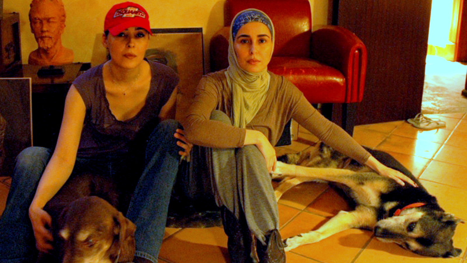 Princesses daughters of King Abdullah of Sauda Arabia, taken on March 23, 2014. Sahar is the oldest of the four, she's the one with head cover. Red hat is Princess Jawaher.