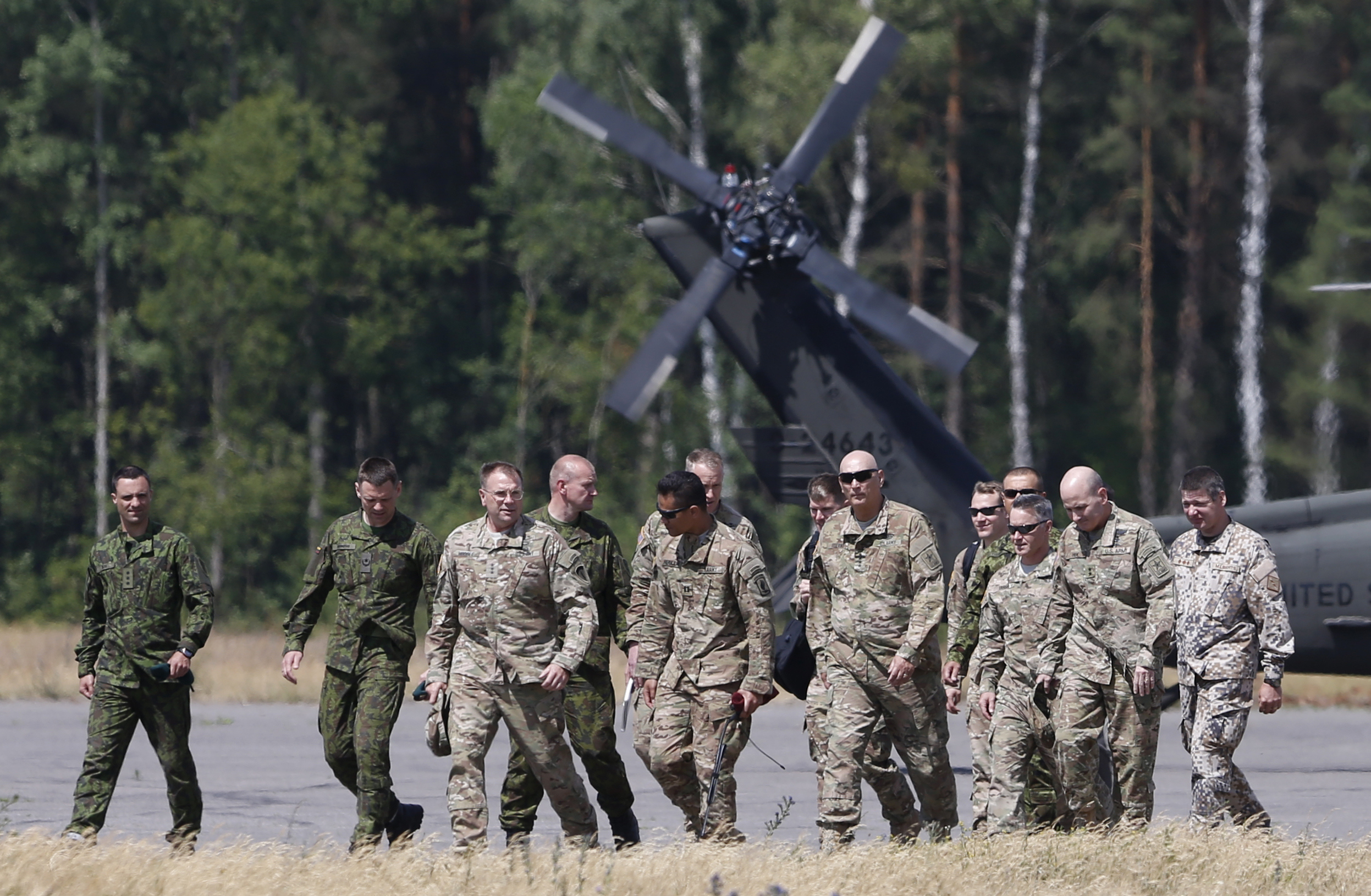 The Baltic States Never Stop Their War Preparations Against Russia