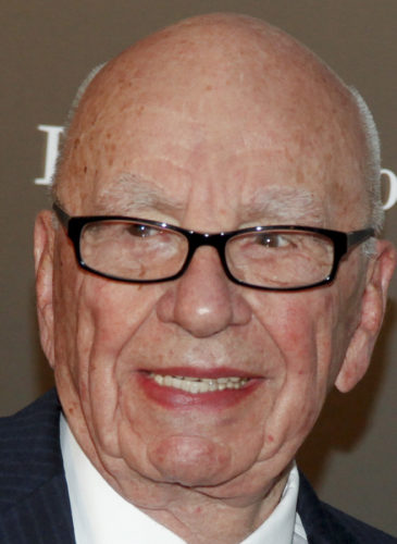 Rupert Murdoch attends the WSJ. Magazine 2014 Innovator Awards at MoMA on Wednesday, Nov. 5, 2014, in New York. (Photo by Andy Kropa/Invision/AP)