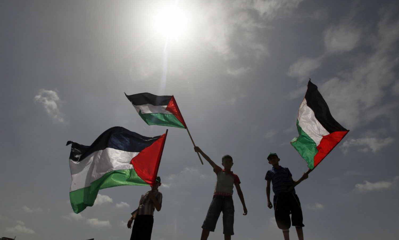 palestinian flag ban