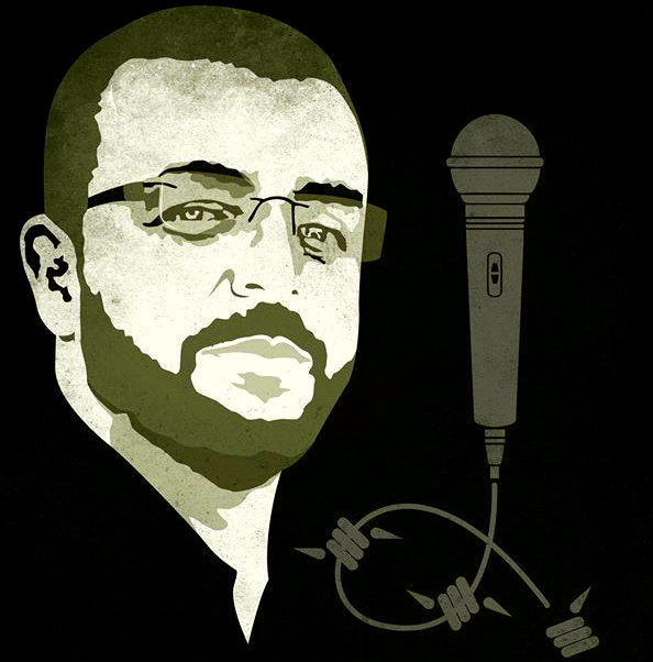 Mohammed al-Qeeq, a married father of two who works as a journalist in Ramallah has been held under a six-month Israeli administrative detention order without charge or trial, along with 660 other Palestinians.