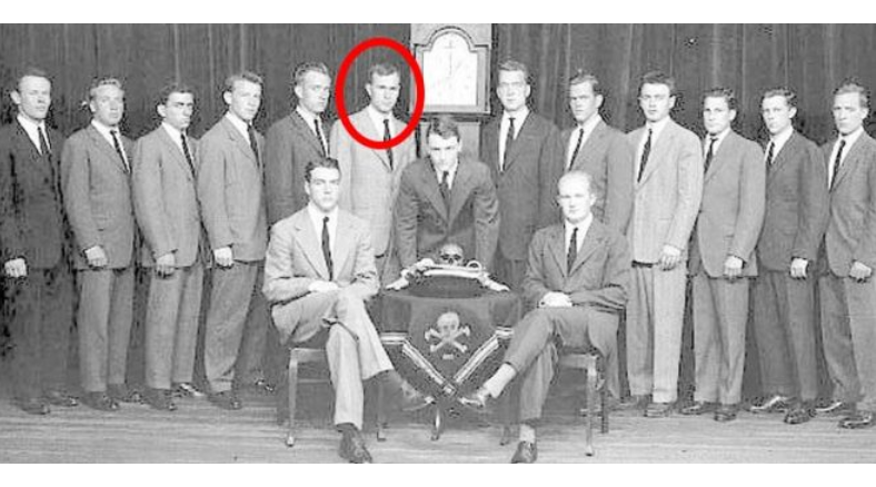 Image result for skull and bones george hw bush