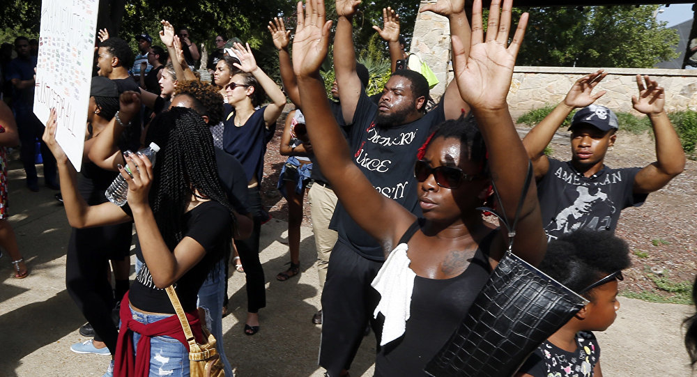 Protests Sweep US After Dallas Shooting