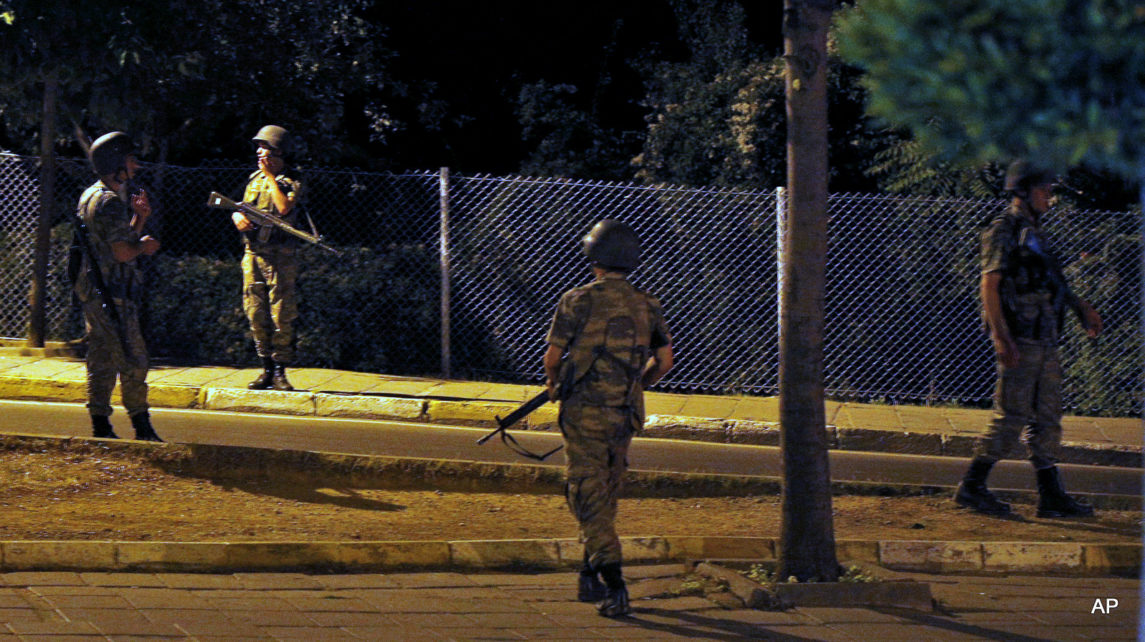Turkish Military Stages Coup, Institutes Martial Law