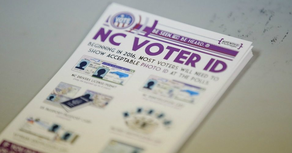 North Carolina's GOP Lawmakers Fail To Revive 'Discriminatory' Voter-ID Law