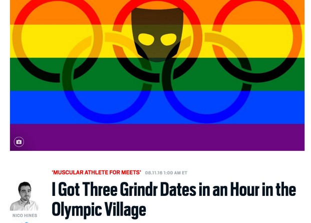 Daily Beast Withdraws Story Potentially Outing Gay Athletes At Rio Games
