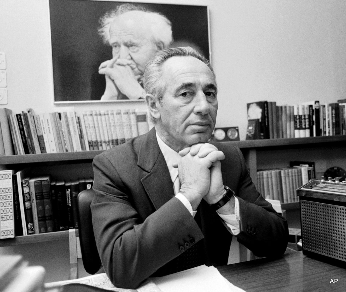How Shimon Peres Stole The Bomb With A Bluff