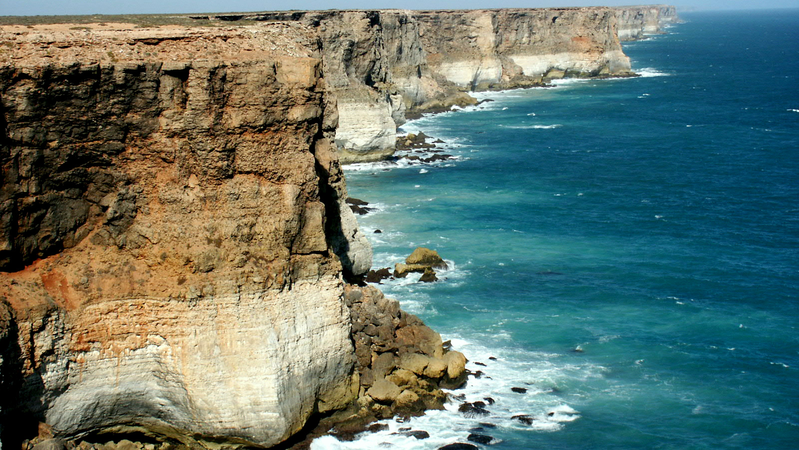 The Great Australian Bight is a large open bay off the southern coastline of mainland Australia.