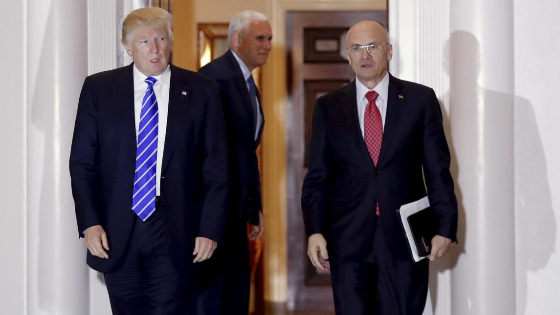 Trump's Pick For Labor Secretary Wrote A Deregulatory Manifesto