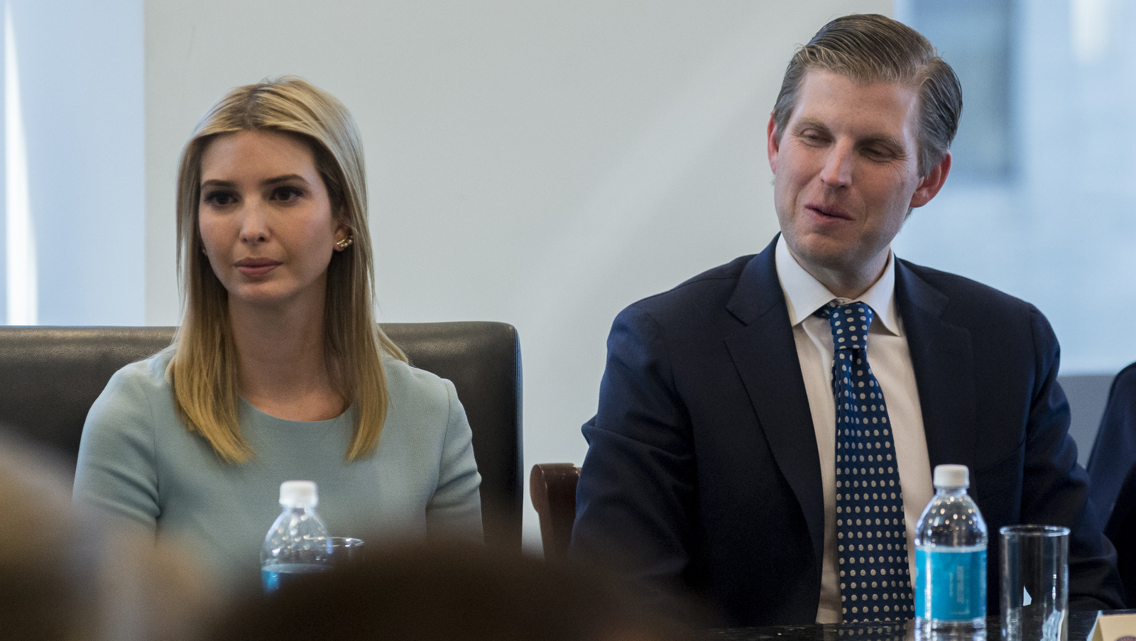 Trump Children Attend Father's Meeting With Top Tech Execs