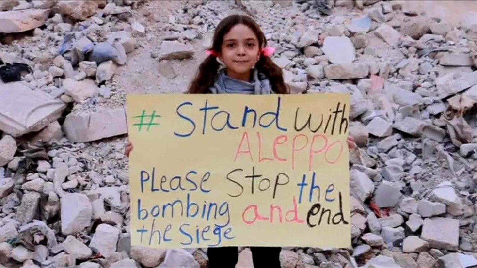 7 year-old Bana Alabed has amassed 359,000 social media followers. With her exceptional use of English and intriciate knowledge of social media, many observers believe Bana is being used a tool to garner support for the Syrian opposition.