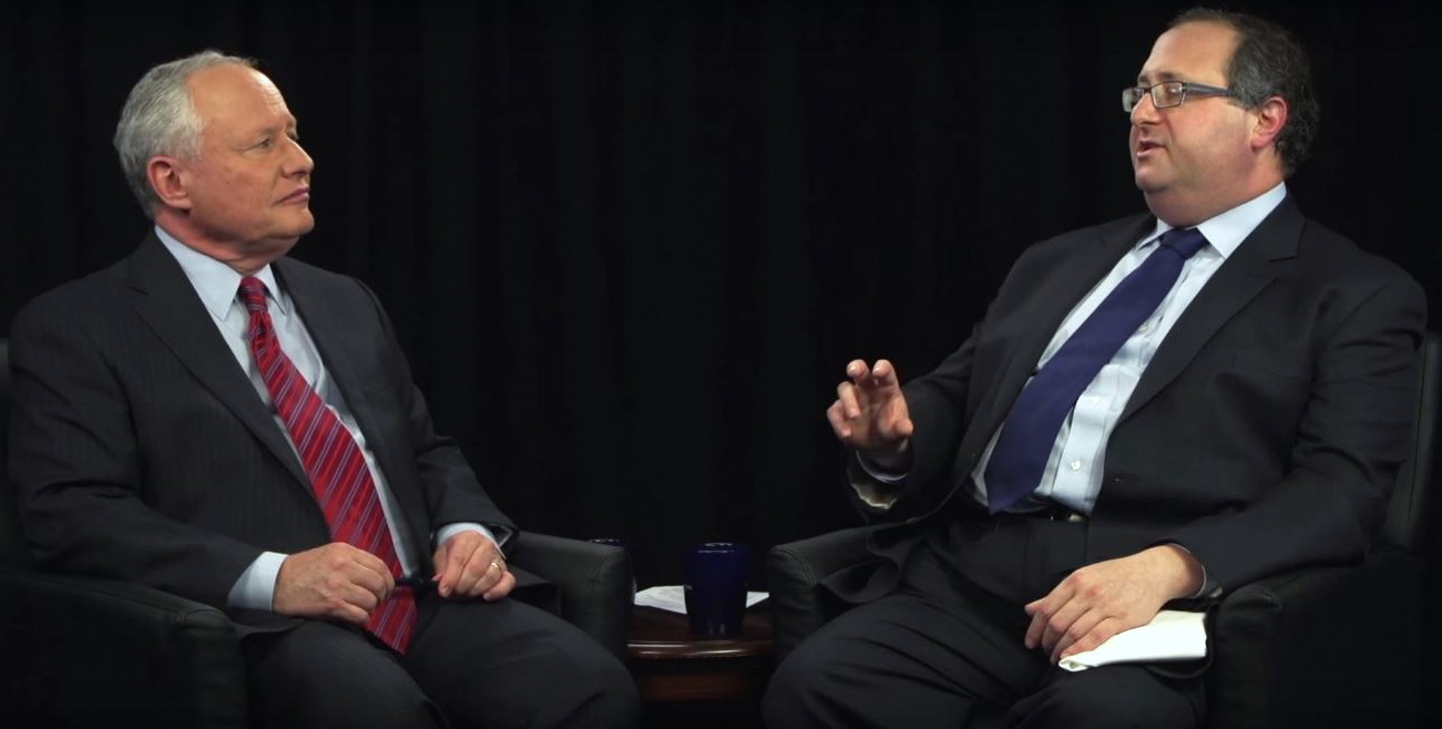 Frederick Kagan speaks during an appearance on notorious neo-conservative, Billy Kristol's web-based talk show.