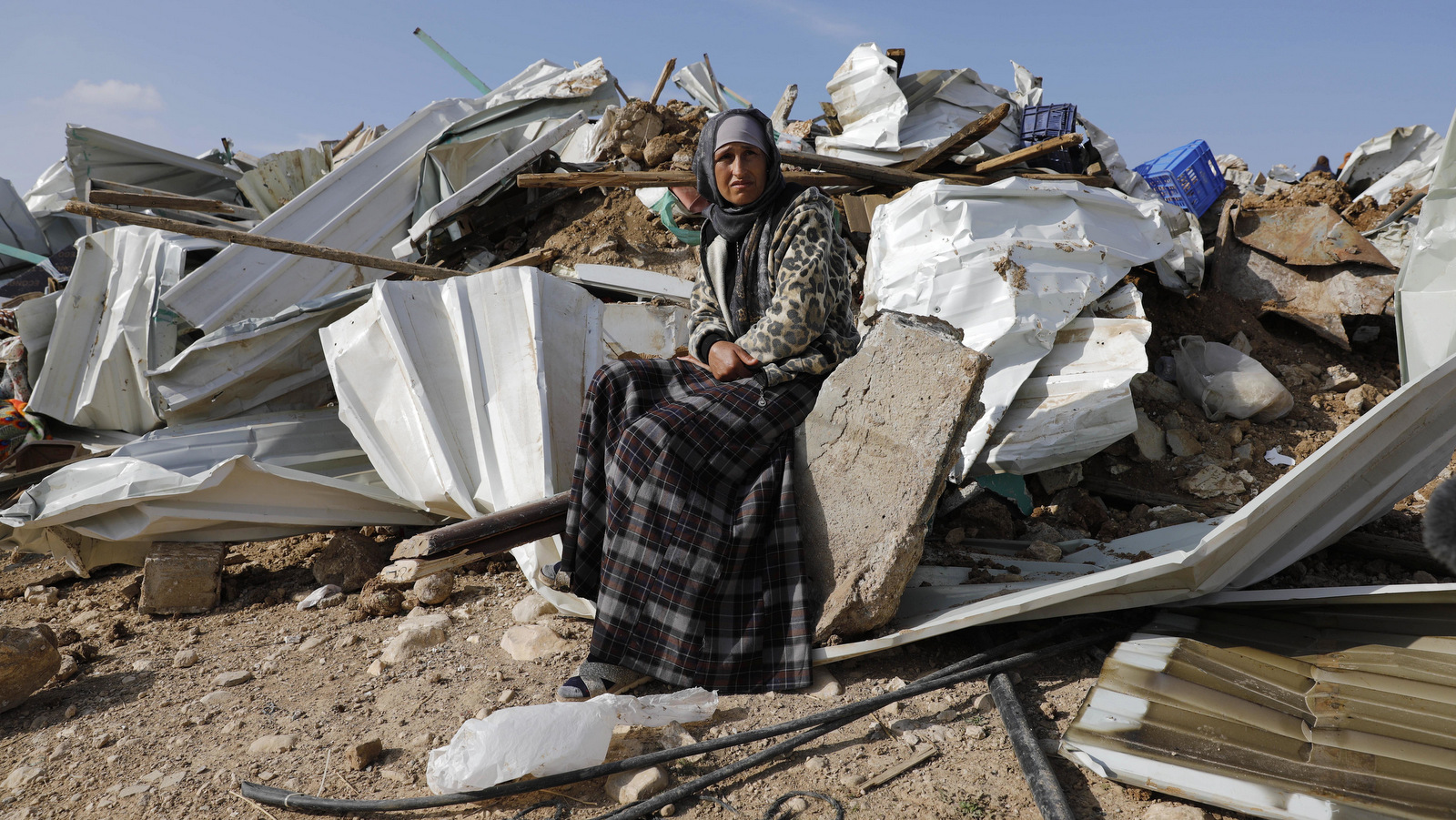 Israel Demolishes Palestinian Village For 114th Time In Seven Years