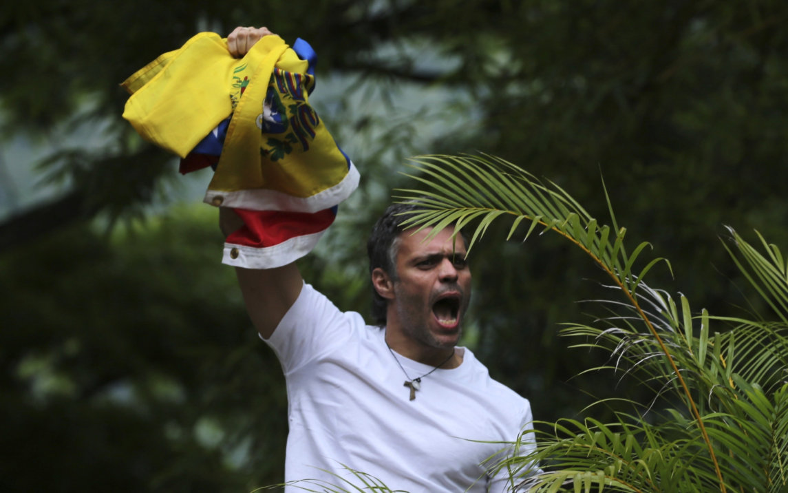The Violent Past Of Leopoldo Lopez, Poster Boy For The Venezuelan Opposition